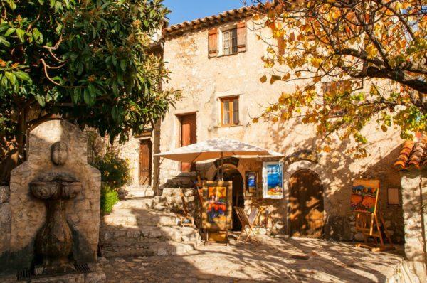 Photo d' Eze Village copyright MASSON BD 03