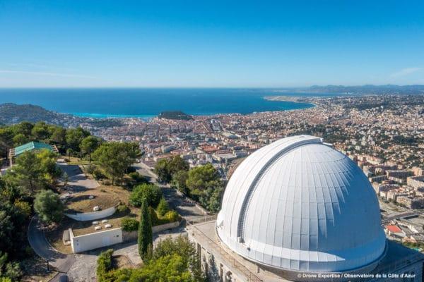 Observatoire de la Côte d'Azur © DroneExpertise_OCA