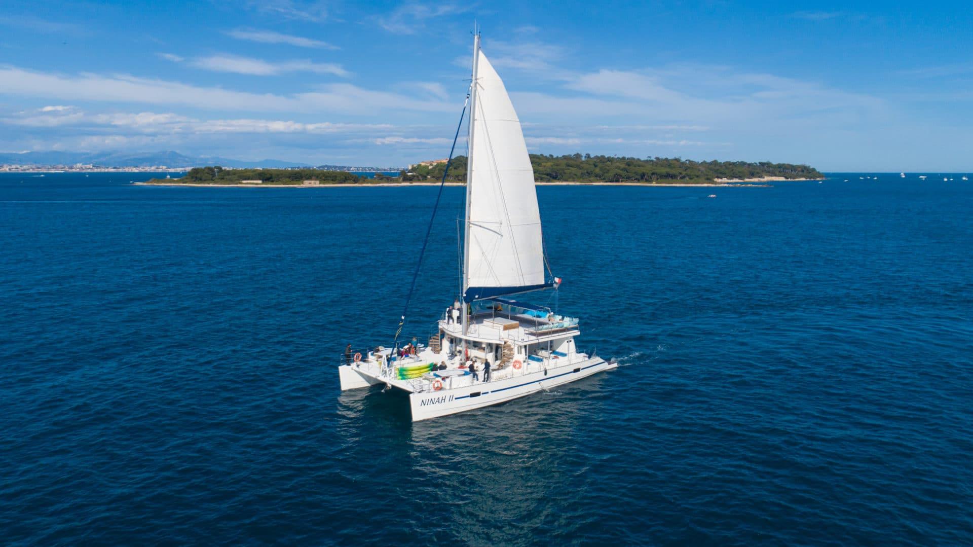 Des sorties en Catamaran