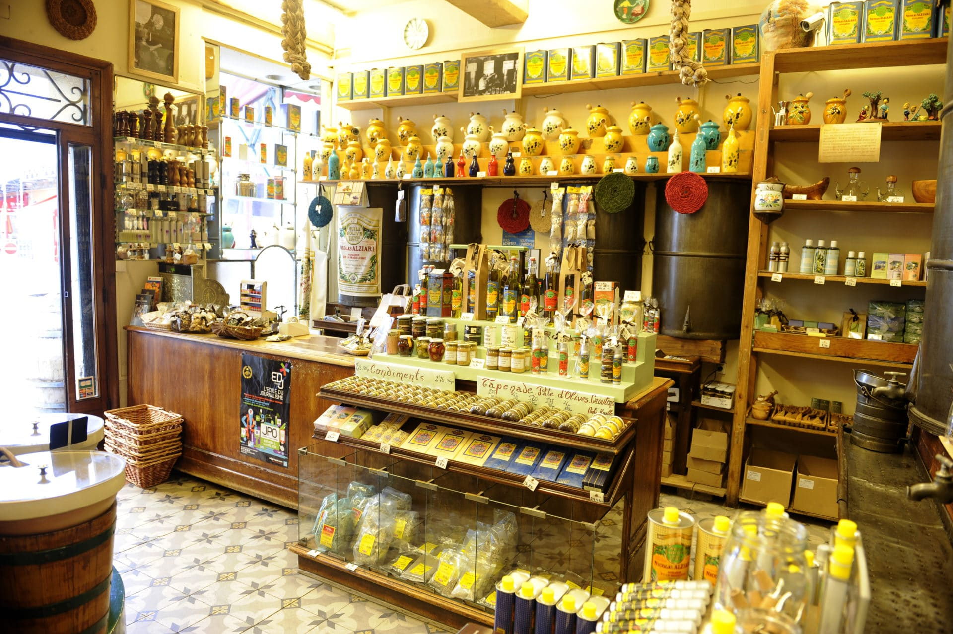 Moulin Alziari à Nice