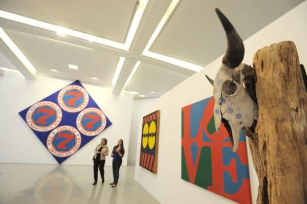 MUSEE D ART MODERNE MAMAC la salle d' exposition