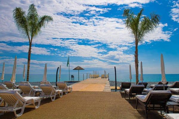 Ponton plage - Casino La Siesta