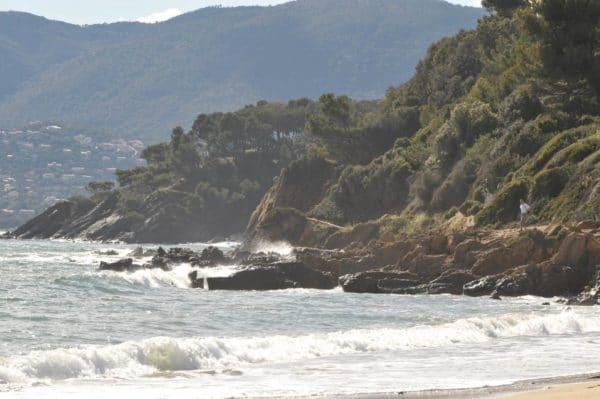 Domaine de la Madrague - Vue sur mer