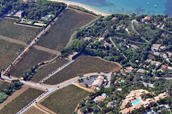 Vue panoramique du Domaine de la Madrague