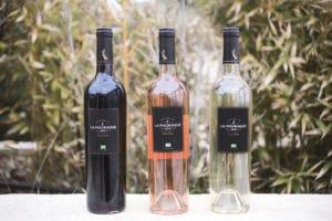 Vins du domaine viticole La Madrague
