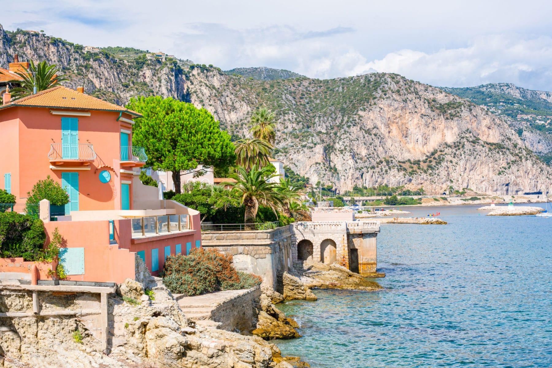 iStock - Coastline of Beaulieu-Sur-Mer, Cote d'Azur, France