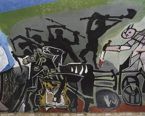 Peinture de Picasso Guerre et paix