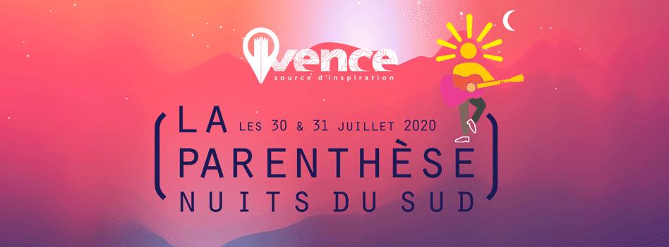 Festival Nuits du Sud – La Parenthèse