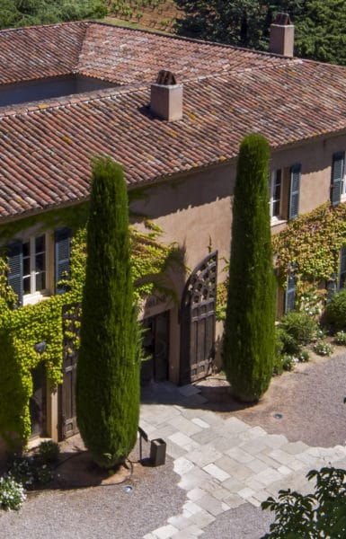 photo Château Sainte Roseline - Entree-caveau