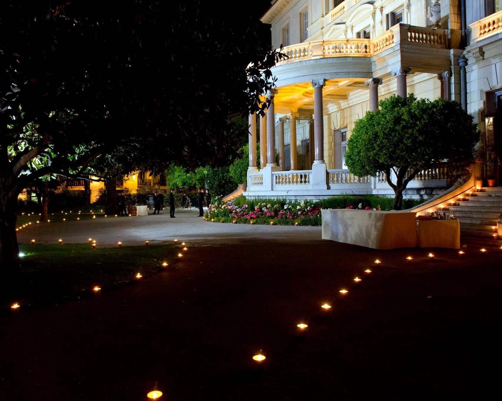 Les soirées de la Villa Masséna