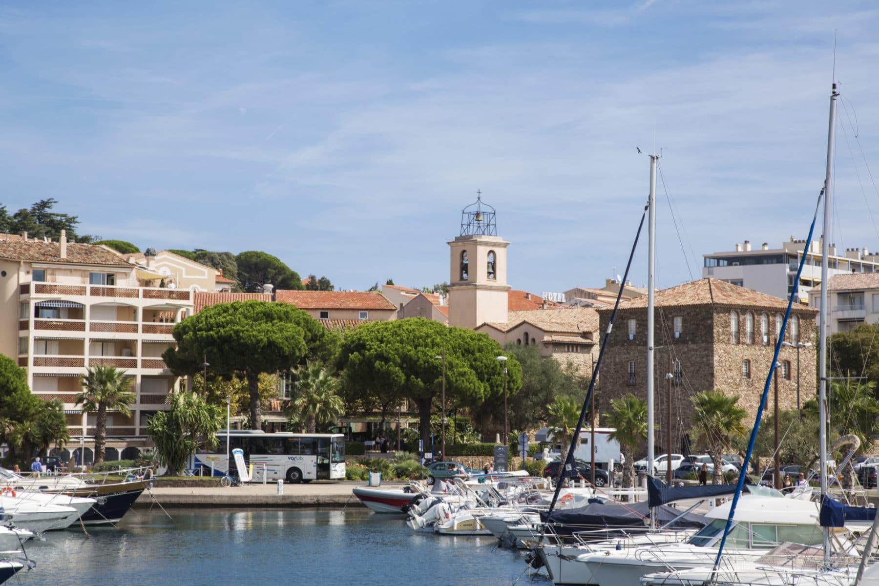 iStock - Boats at Sainte-Maxime