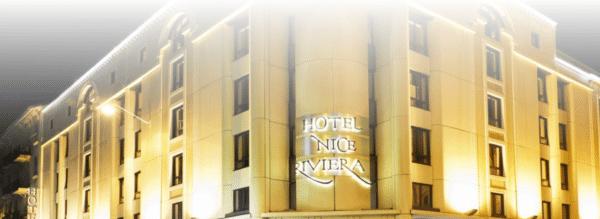 Photo de la façade de l' hotel
