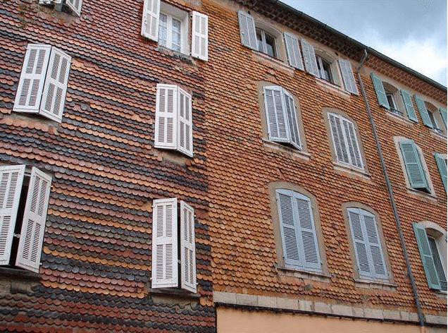 Maison de village de la provence verte