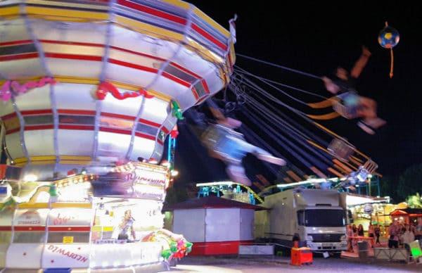 Le Pouss Pouss, manège à sensations fortes, Luna Park