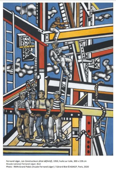 Les Constructeurs, Musée Fernand Léger
