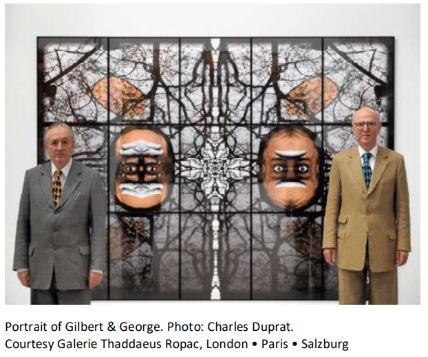 Gilbert & George, Images d'utopies
