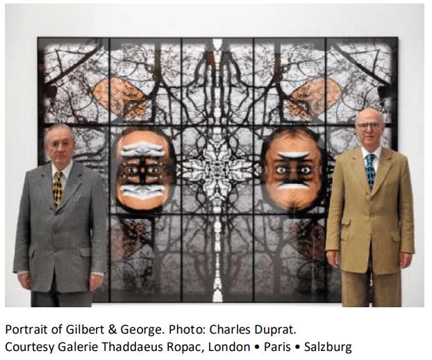 Exposition de Gilbert et George au Musée Fernand Léger