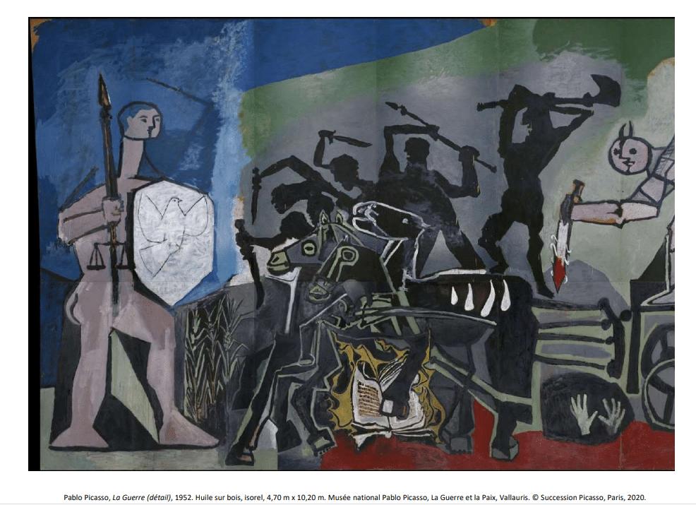 """"""" La Guerre et la Paix"""" - Musée Pablo Picasso à Vallauris"""