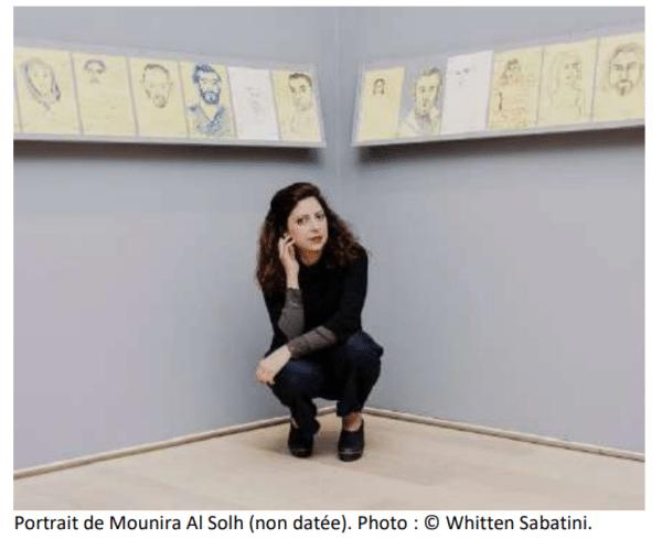 Mounira Al Solh au Musée Picasso, Vallauris