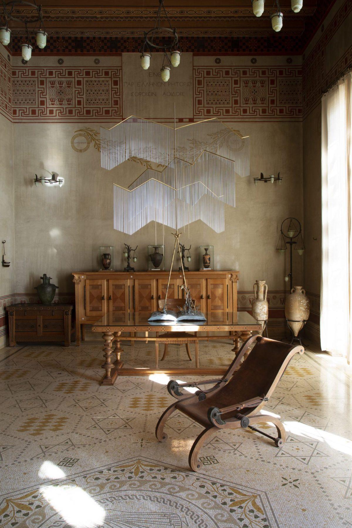 Une fantaisie grecque - Hubert Le Gall - Villa Kérylos - Jean-Francois Jaussaud Luxproductions 059