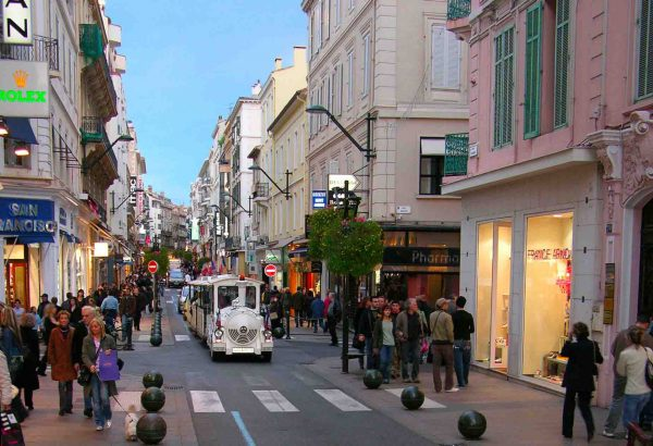 Petit Train à Cannes