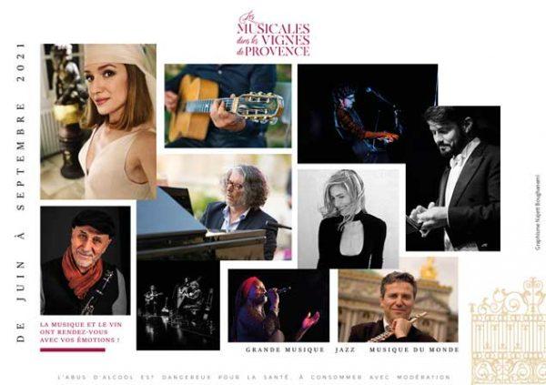Festival : Les Musicales dans les Vignes de Provence