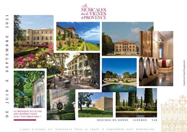 Les Musicales, festival au sein des vignobles de Provence