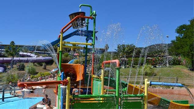 Toboggans pour enfants, Aqualand Ste Maxime