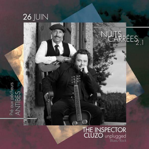 The Inspector Cluzo nuits carrées 2.1 27 juin