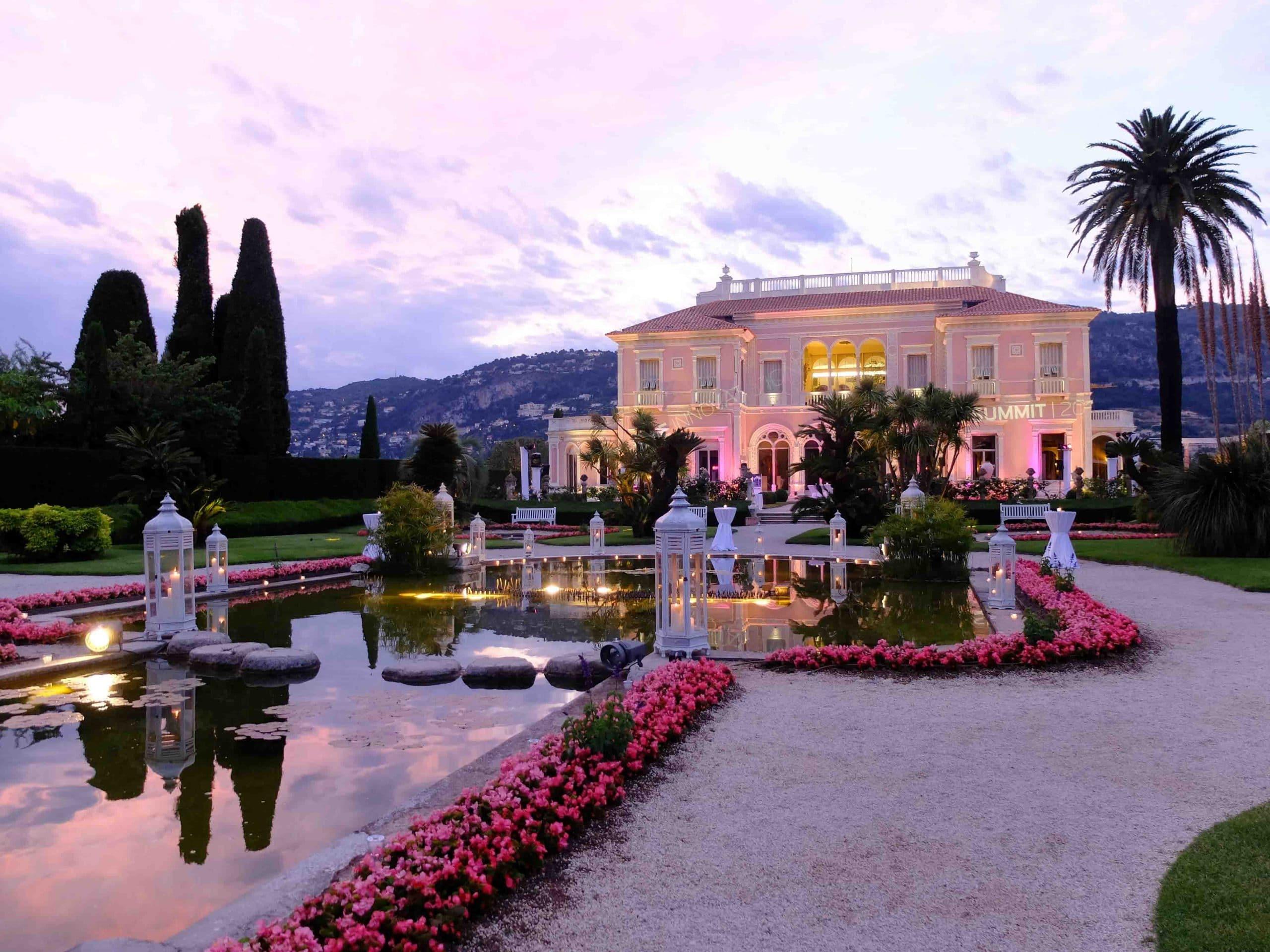 Nocturnes at the Villa Ephrussi de Rothschild