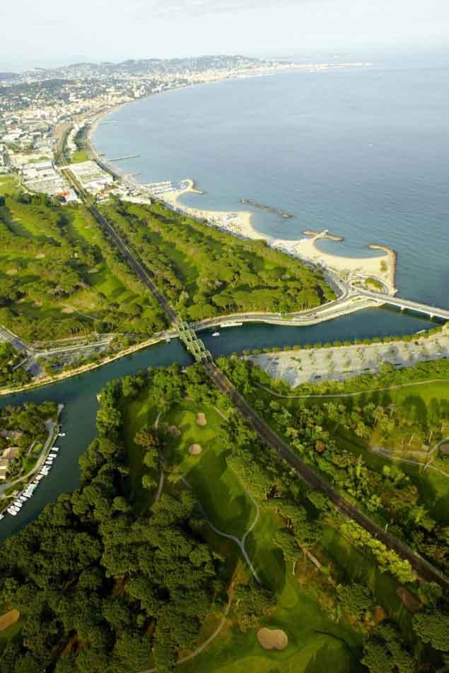 Old Course Golf au bord de la mer