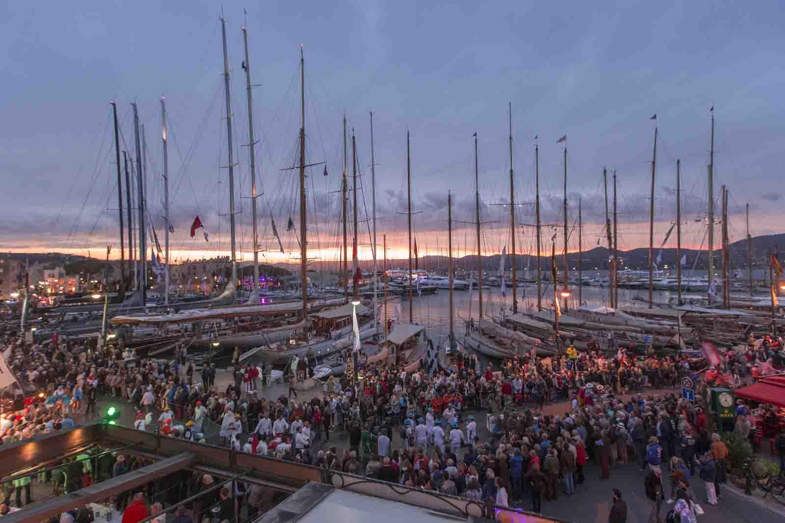 Die Segel von Saint Tropez