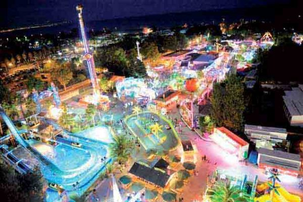 Antibes Land, Parc d'attractions