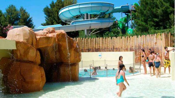Aqualand Ste Maxime, et son Bubble Bath