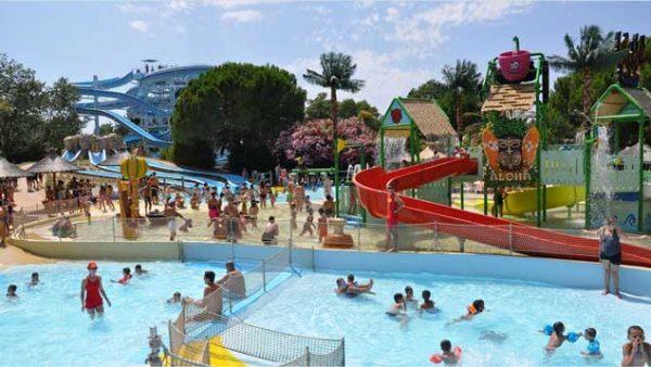 Aqualand Saint Cyr och dess attraktioner