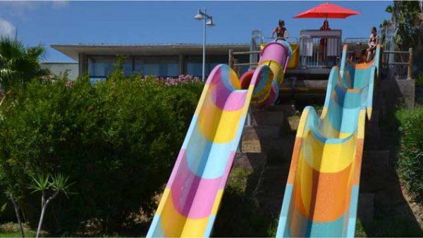 Toboggans d'Aqualand Sainte Maxime