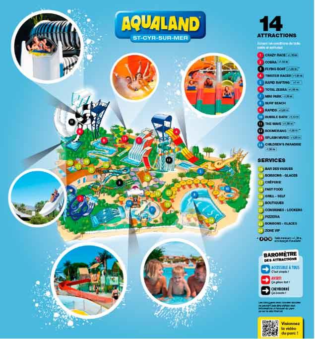 Var Vattenpark: Aqualand Saint Cyr