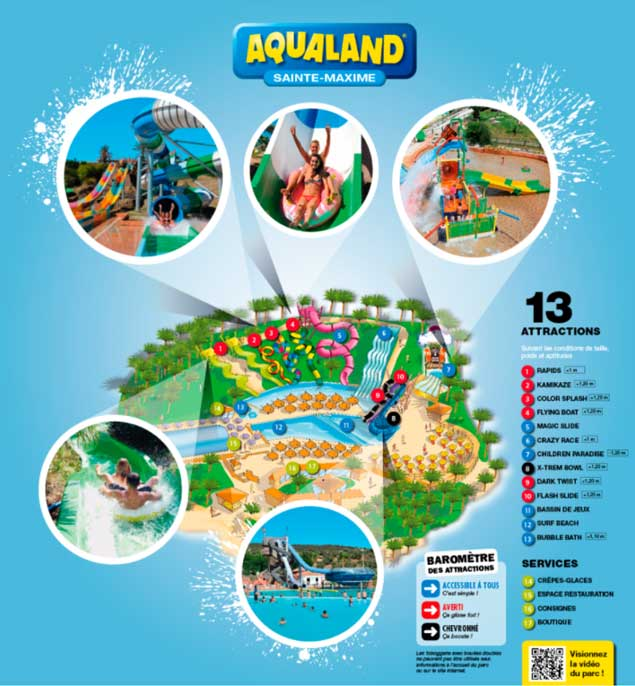 Parc aquatiaue du Var : Aqualand Ste Maxime