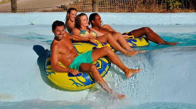 Attractions d'Aqualand Ste Maxime