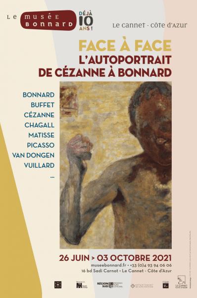 Face à Face, L'autoportrait de Cézanne à Bonnard