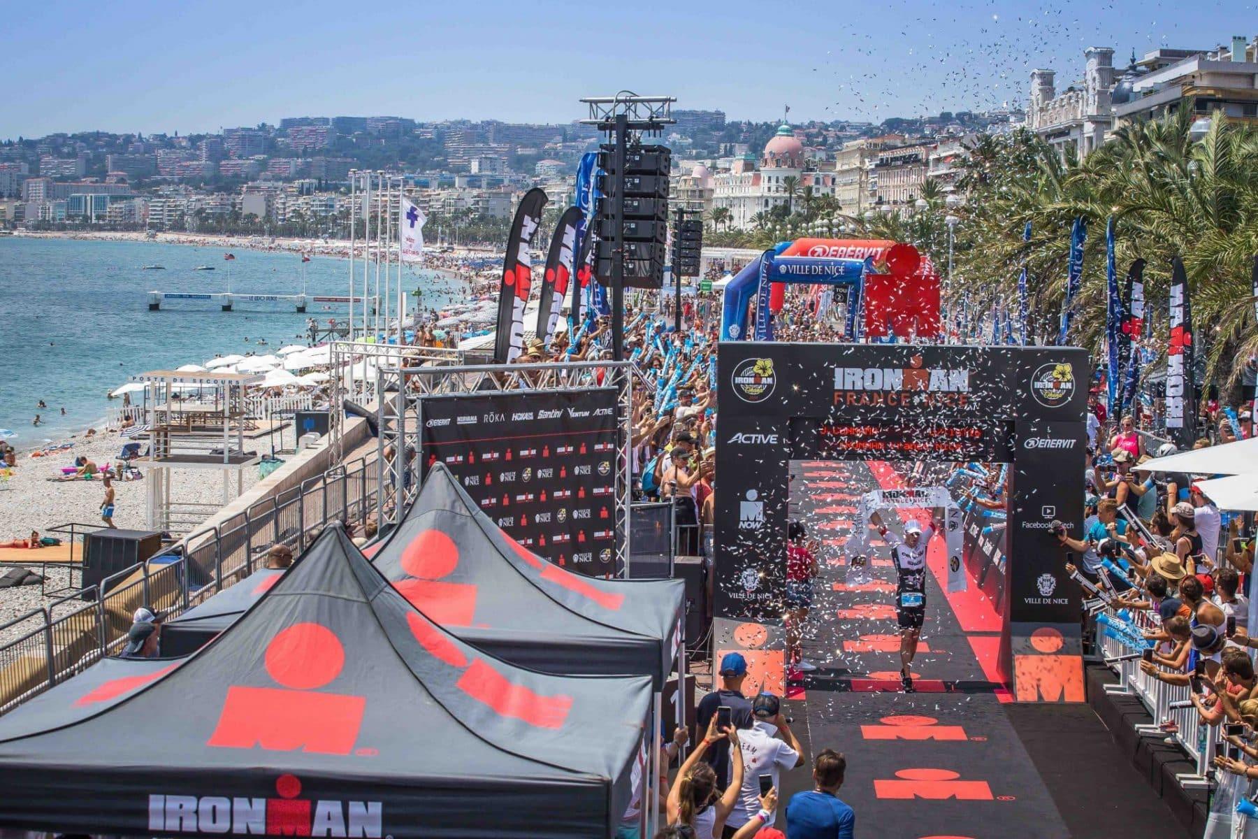 Arrivée Ironman Nice Promenade des Anglais ©Activ'images