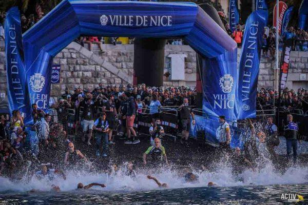 Départ Ironman Nice France 2019 ©Activ'images