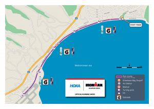 Ironman Nice parcours run marathon 2021