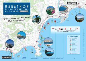 Parcours Marathon Nice Cannes 2021
