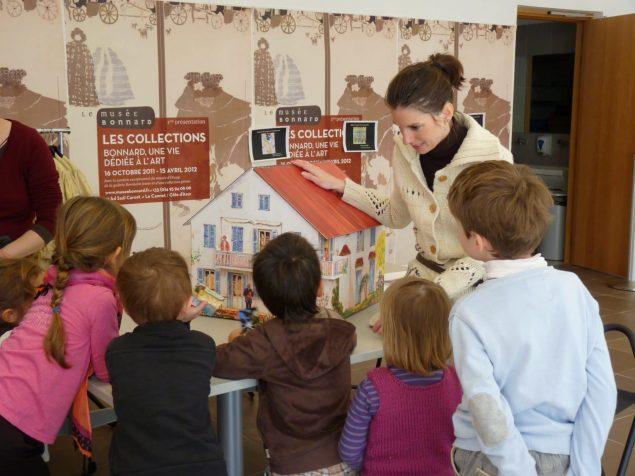 Ateliers pour les enfants © Musée Bonnard