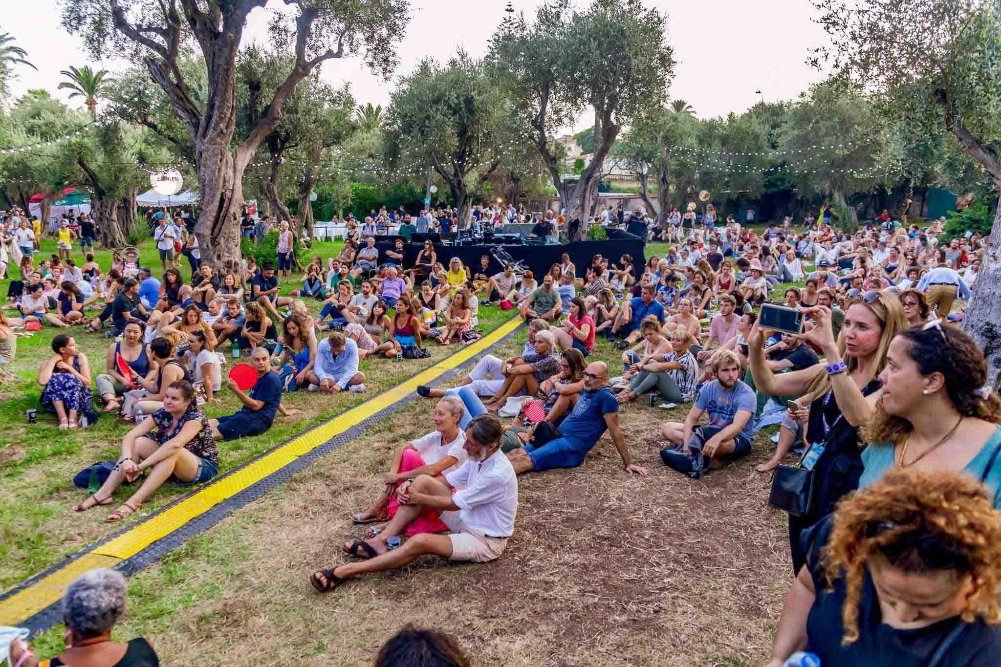 Jardin de l'Olivaie Festival Nuits Guitares