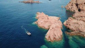 Roche rouge Sea You Sun