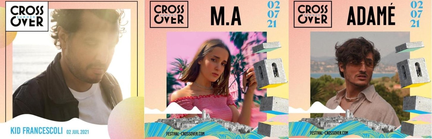 Les artistes Crossover Summer Arty Party