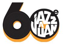 logo jazz 60 ans