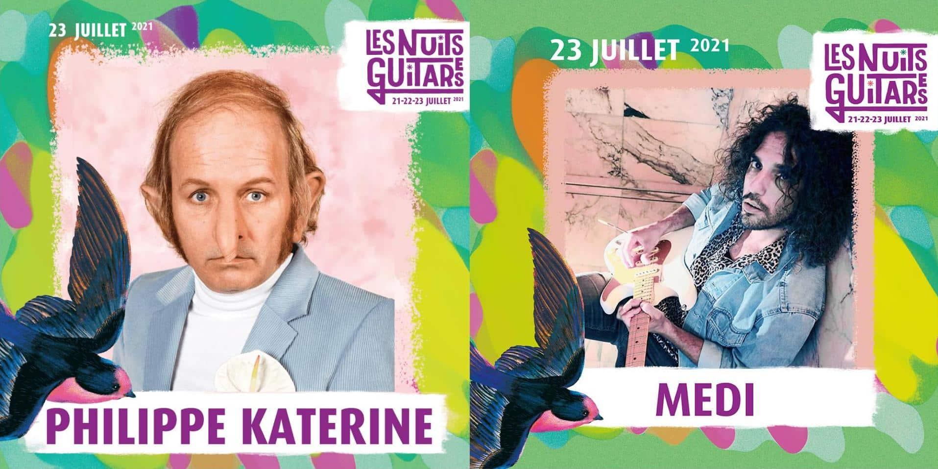 Philippe Katerine et Medi Visuel Nuits Guitares